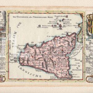 Mappa Sicilia Gabriel Bodenehr