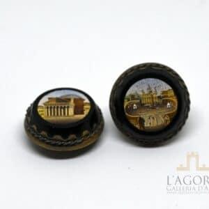 Bottoni da bavero in Micromosaico