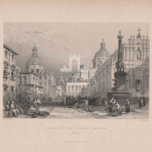 Piazza dell'Elefante a Catania