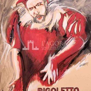Manifesto Rigoletto – Giuseppe Bacci
