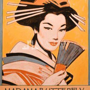 Manifesto Vintage Madama Butterfly – Giuseppe Bacci
