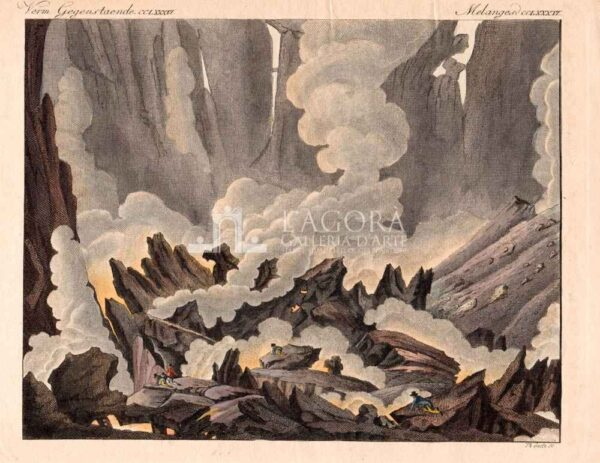 Etna Il Cratere Bertuch 1799