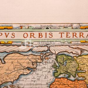 Mappamondo Typus Orbis Terrarum (repro)