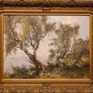 Veduta di Taormina, Theo Goedvriend (1879-1969)