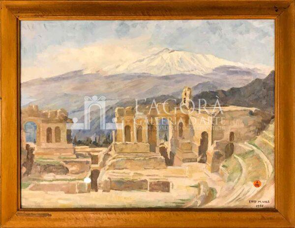 veduta del Teatro Greco di Taormina