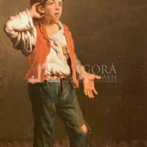 Coppia di figure popolari di Arturo Ricci