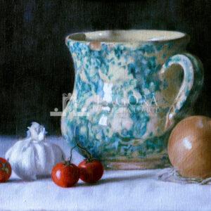 Antique pitcher by Liliana Totaro