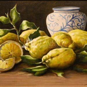 Natura morta Limoni, Mario Irace