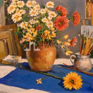 Vaso con fiori, Carlo Cordua