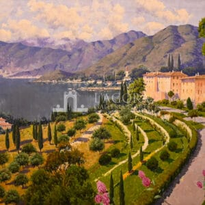 Bellagio, Lake Como by Antonio Sannino