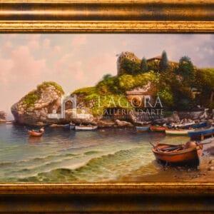 Isola Bella, Taormina by Amleto Colucci