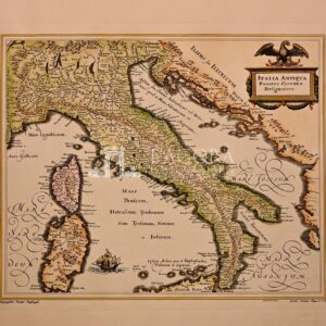 Mappa Italia Cluverio