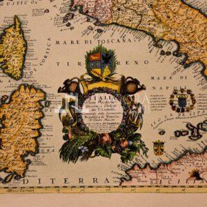 Mappa Italia Coronelli
