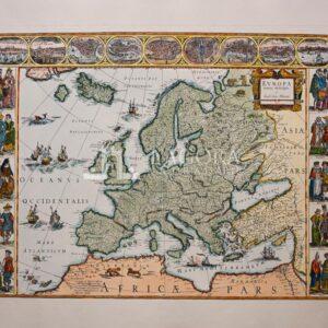 Mappa Europa Bleau
