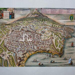 Veduta a volo d'uccello della città di Catania (repro)