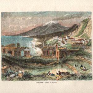 Taormina e L' Etna in Sicilia