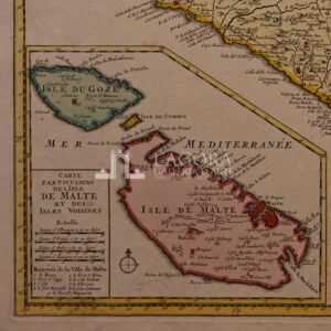 Mappa Sicilia Ottens Joachim 1725 ca.