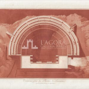 Planimetria del Teatro di Taormina Jean Houël 2