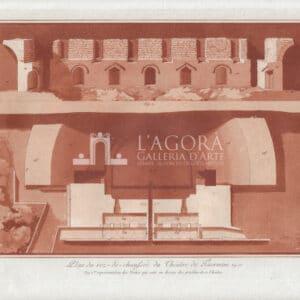 Planimetria del Teatro di Taormina Jean Houël 3