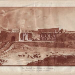 View of the Theater of Taormina by Jean Houël