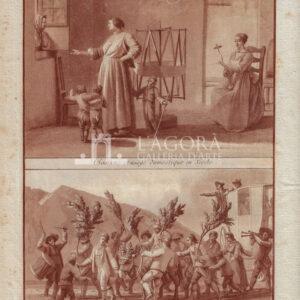 Costume ed usanza domestica in Sicilia / Buffoneria popolare di Castronuovo