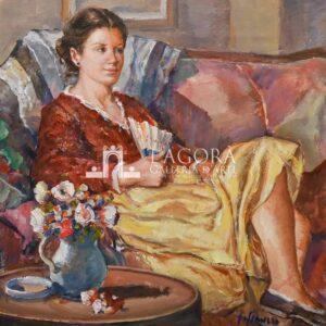 Ritratto di Donna Lia di Salvatore Ciaurro