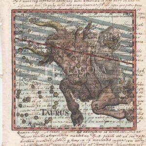 I 12 Segni zodiacali su carta manoscritta