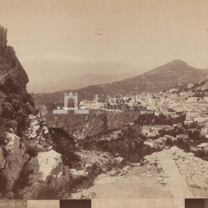 Taormina, Panorama Giov. Crupi N°86