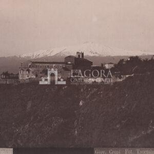 Taormina, Il Convento del San Domenico. Giov. Crupi N° 480