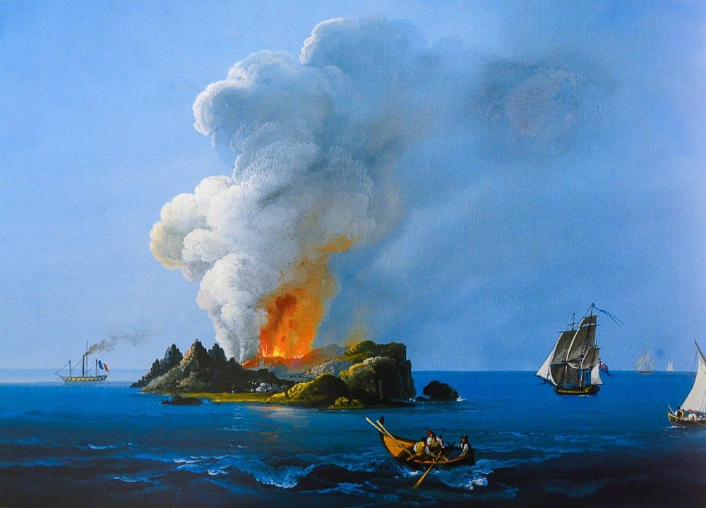 Read more about the article Rosso Fuoco – Il Corallo di Sciacca e L' Isola Ferdinandea