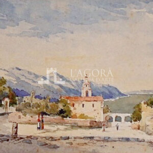 Taormina, Viale San Pancrazio di Louise Hedevig Margrethe Winther