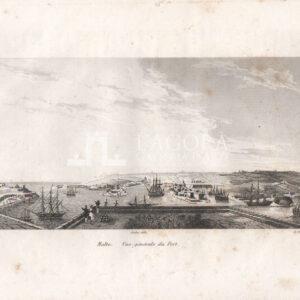 Malta, Veduta generale del Porto – Audot