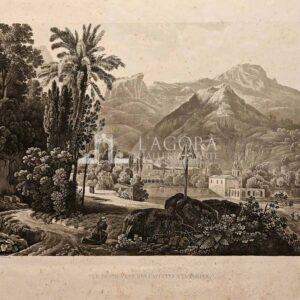 Vue Du Counvent Des Capucins a Taormine – G. De La Salle