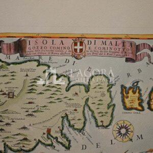 Isola di Malta, Gozzo, Comino e Cominotto di Giacomo DeRossi