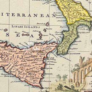 Mappa Regno delle Due Sicilie